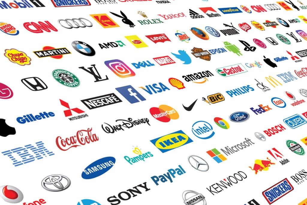לוגואים של מותגים מובילים בעולם